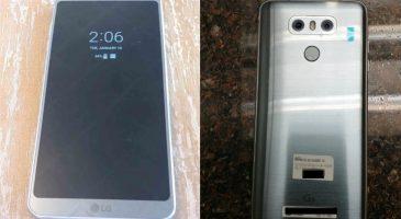 LG G6 Görüntüleri