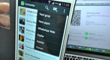 WhatsApp Web Kullanmak
