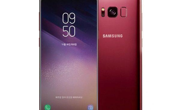 Samsung Galaxy S8 Bordo Kırmızı
