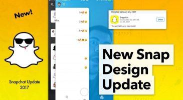 Snapchat Uygulaması Yenilendi
