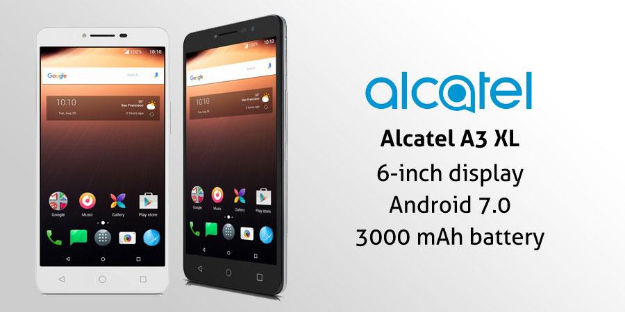 Alcatel A3 XL Teknik Özellikleri