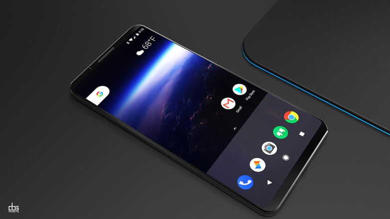 Google Pixel 2 XL Resimleri