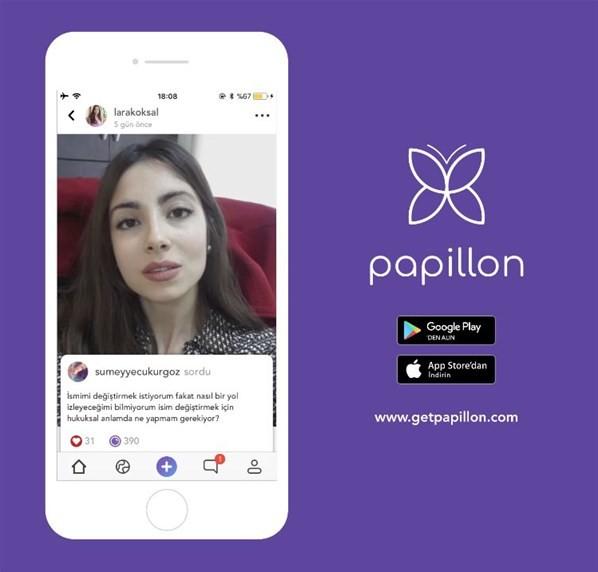 Papillon Android Uygulaması