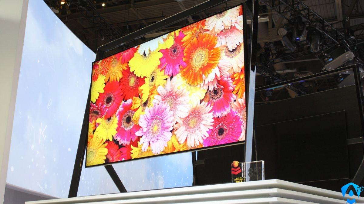 Samsung Q9S 8K QLED TV CES 2018