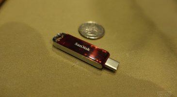 SanDisk 1 TB USB Bellek