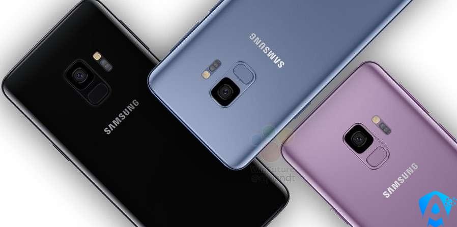 Samsung Galaxy S9 Görselleri