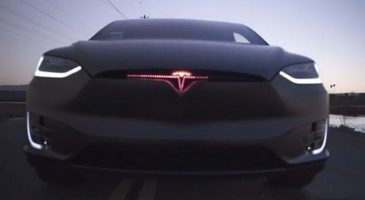 Tesla Model X KITT Edition