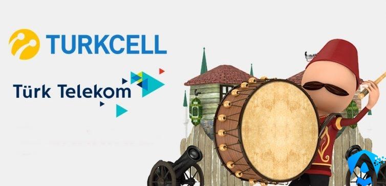 Turkcell ve Türk Telekom